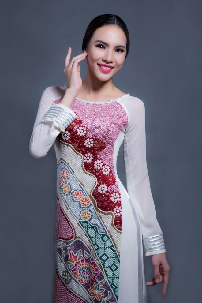 Ao dai cua Le Quyen dien tai Miss Grand International hinh anh 1