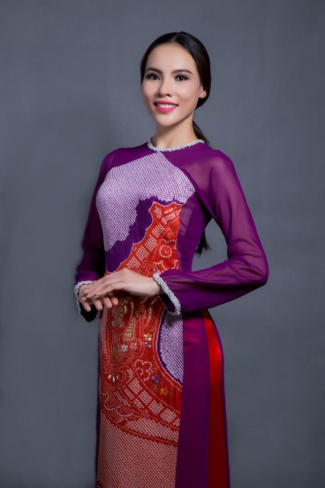 Ao dai cua Le Quyen dien tai Miss Grand International hinh anh 4