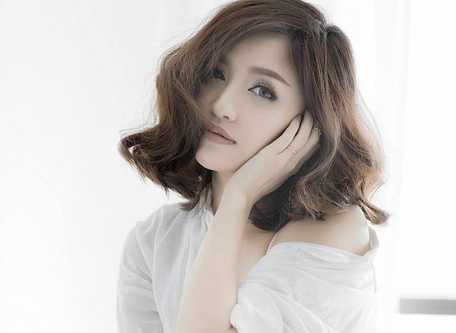 Hot girl Viet de thuong voi toc ngan hinh anh