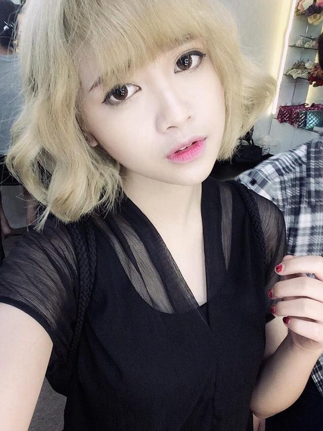 Hot girl Viet de thuong voi toc ngan hinh anh 13