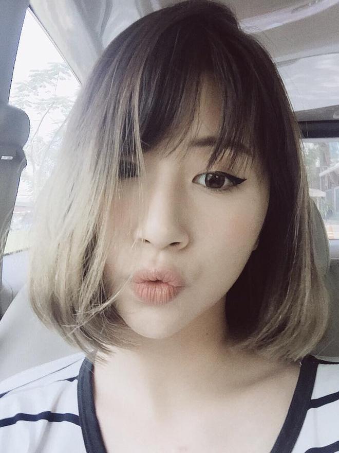Hot girl Viet de thuong voi toc ngan hinh anh 3