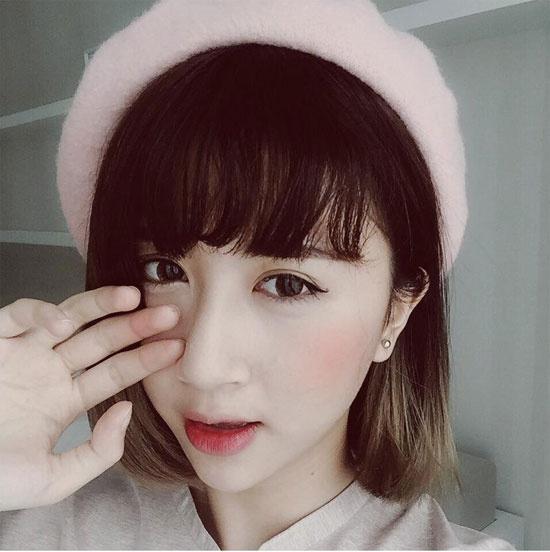 Hot girl Viet de thuong voi toc ngan hinh anh 4