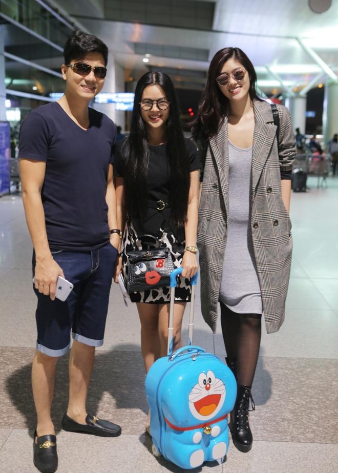 Thanh Duoc, Huynh Tien sang Hong Kong du sinh nhat TVB hinh anh 1