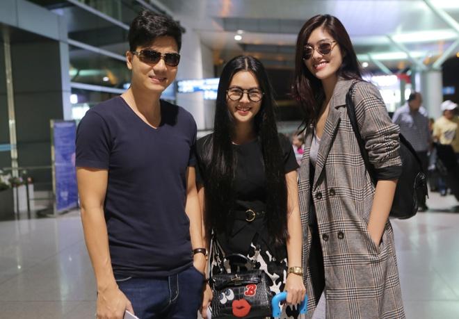 Thanh Duoc, Huynh Tien sang Hong Kong du sinh nhat TVB hinh anh