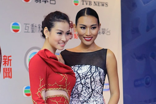 Vuong Thu Phuong, Dieu Huyen du tiec sinh nhat TVB hinh anh