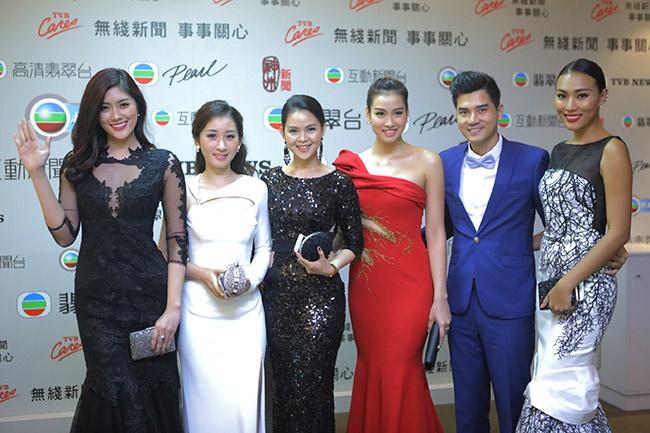 Vuong Thu Phuong, Dieu Huyen du tiec sinh nhat TVB hinh anh 1