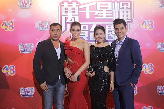 Vuong Thu Phuong, Dieu Huyen du tiec sinh nhat TVB hinh anh 2