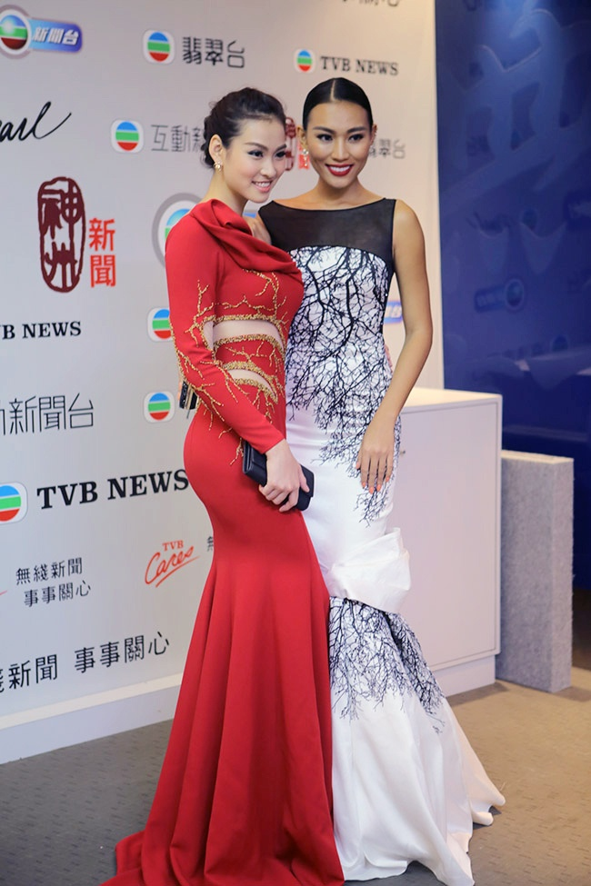 Vuong Thu Phuong, Dieu Huyen du tiec sinh nhat TVB hinh anh 3