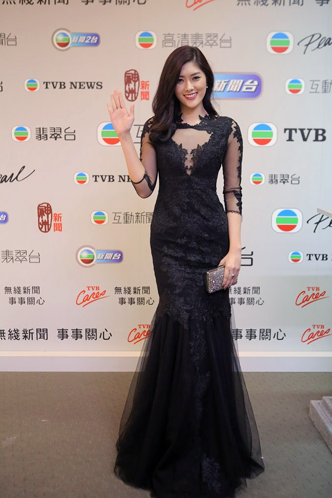Vuong Thu Phuong, Dieu Huyen du tiec sinh nhat TVB hinh anh 4