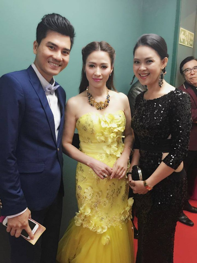Vuong Thu Phuong, Dieu Huyen du tiec sinh nhat TVB hinh anh 5