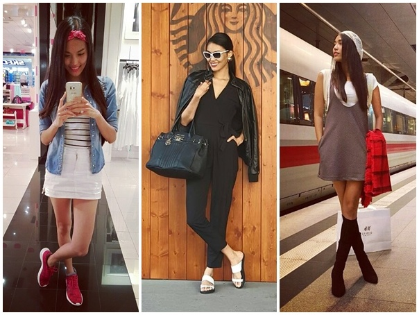 Street style tinh nghich, pha cach cua Lan Khue hinh anh 10