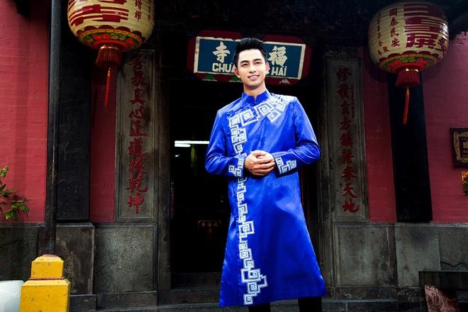 Hoang Long gioi thieu 5 mau ao dai cho phai manh hinh anh 8
