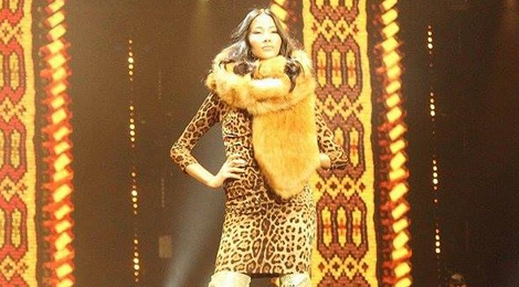 Hoang Thuy tham gia show dien cua Dolce & Gabbana hinh anh