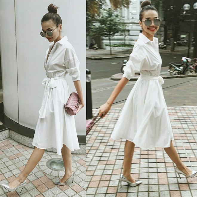 Thanh Hang dien street style sanh dieu nhat tuan hinh anh 1