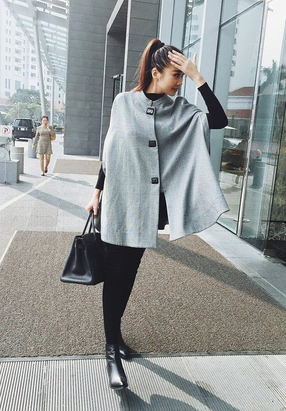 Thanh Hang dien street style sanh dieu nhat tuan hinh anh 3