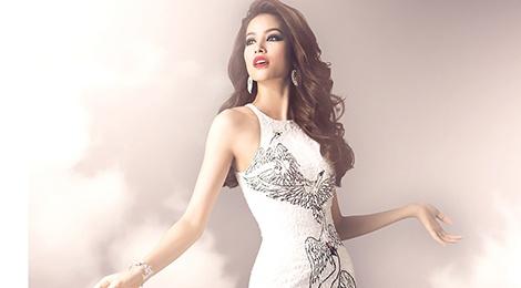 Hai vay da hoi duoc Pham Huong mac tai Miss Universe hinh anh
