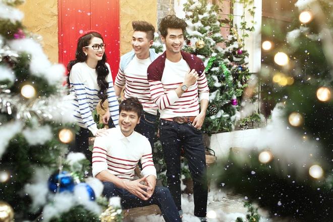 Doan Thanh Tai, Phan Thi Mo goi y trang phuc Noel nang dong hinh anh 3