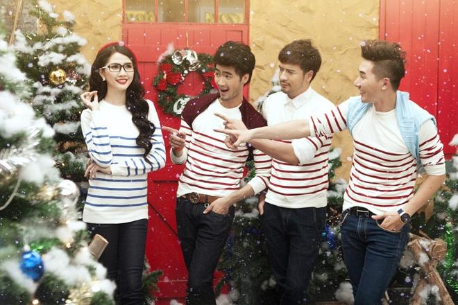Doan Thanh Tai, Phan Thi Mo goi y trang phuc Noel nang dong hinh anh 5