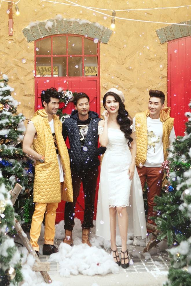 Doan Thanh Tai, Phan Thi Mo goi y trang phuc Noel nang dong hinh anh 9