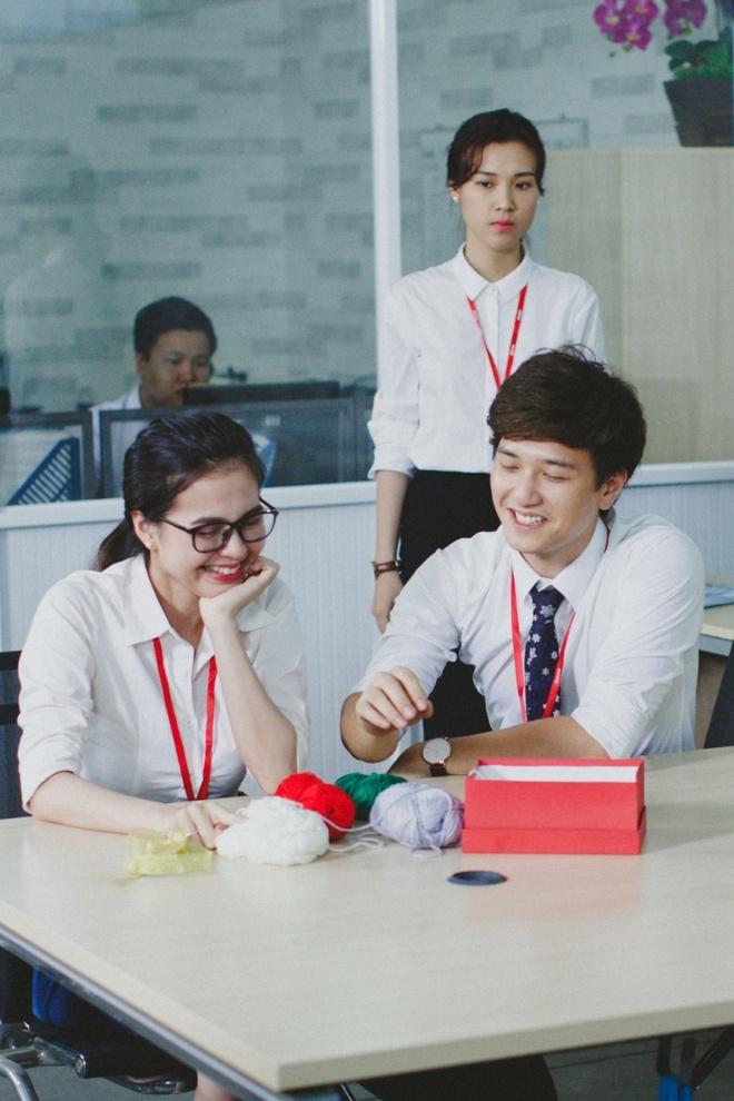 Huynh Anh - Hoang Oanh dong phim ve tinh yeu cong so hinh anh 5