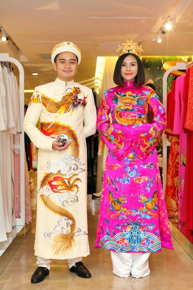Ong xa doanh nhan dua Van Trang di thu ao dai cuoi hinh anh 5