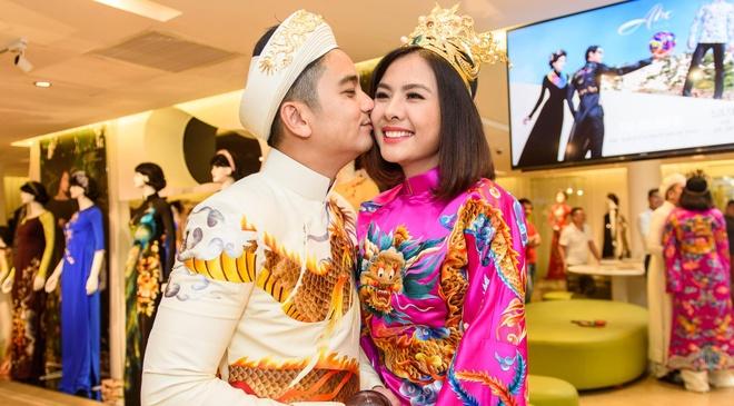 Ong xa doanh nhan dua Van Trang di thu ao dai cuoi hinh anh
