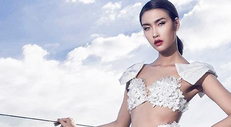 Nguyen Oanh quyen ru voi 8 mau dam da hoi mua xuan hinh anh