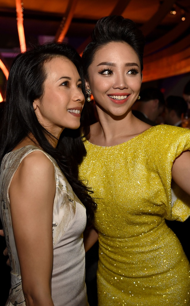 Ha Ho, Toc Tien gap go dan sao quoc te o Thuong Hai hinh anh 3
