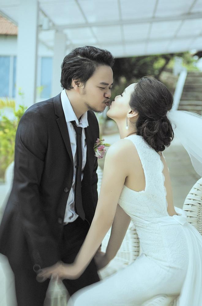 Vo chong Trang Nhung ngot ngao trong anh cuoi hinh anh 3