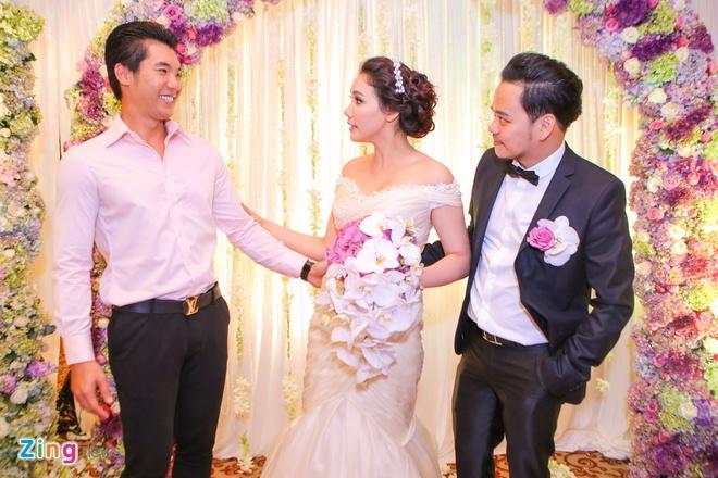 Sao Viet chuc mung Trang Nhung len xe hoa hinh anh 9