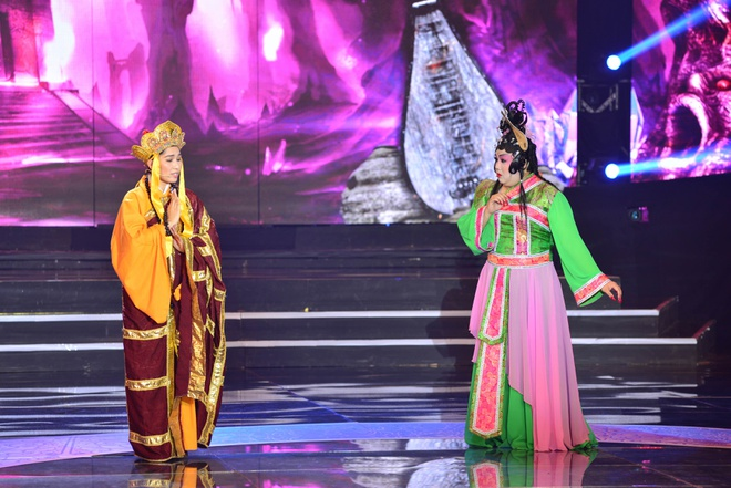 Hoai Linh, Quang Linh tranh cai ve vai gia gai cua Quoc Dai hinh anh 4
