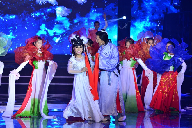 Hoai Linh, Quang Linh tranh cai ve vai gia gai cua Quoc Dai hinh anh 10
