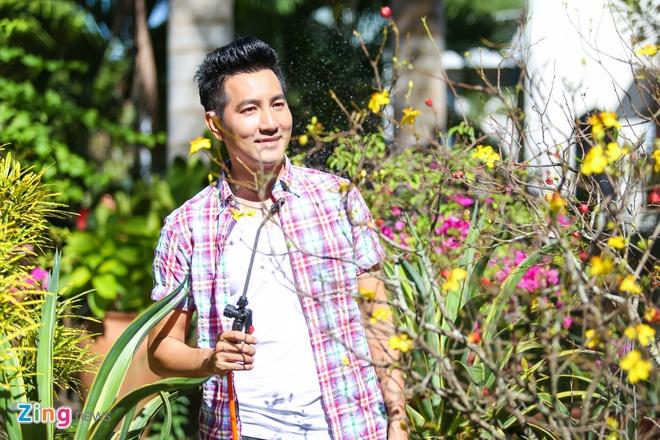 Nha vuon cua ca si Nguyen Phi Hung ngay cuoi nam hinh anh 5