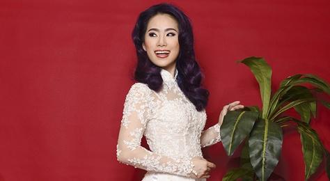 Luong Bich Huu goi y ao dai xuan cho ban gai dang nho nhan hinh anh