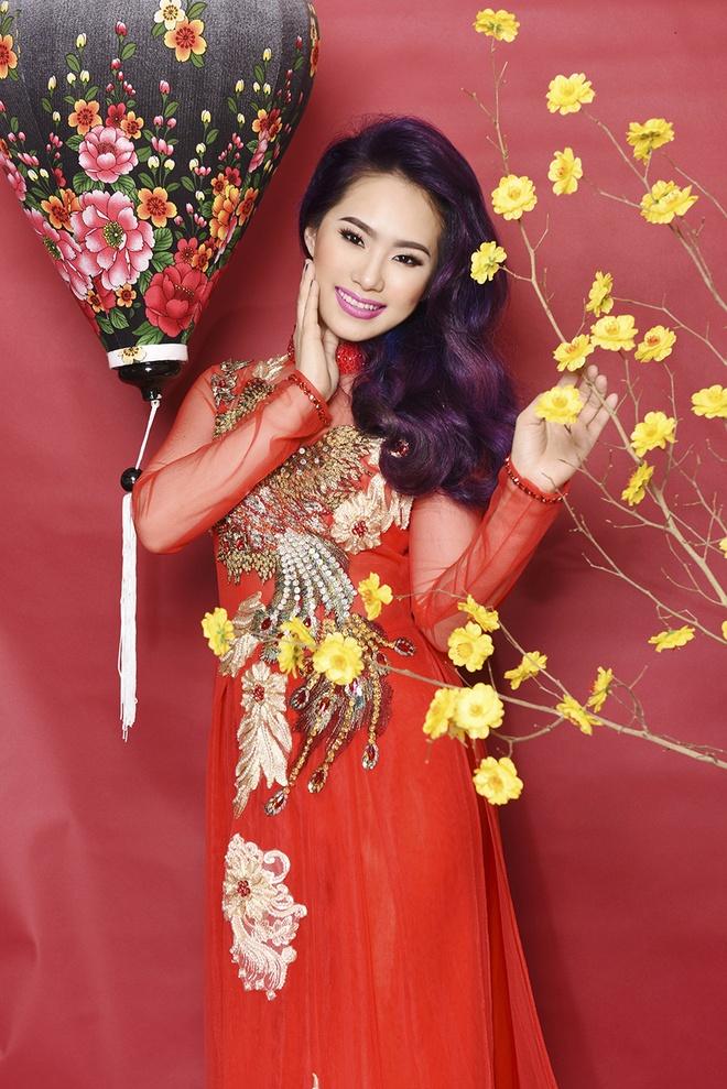 Luong Bich Huu goi y ao dai xuan cho ban gai dang nho nhan hinh anh 1