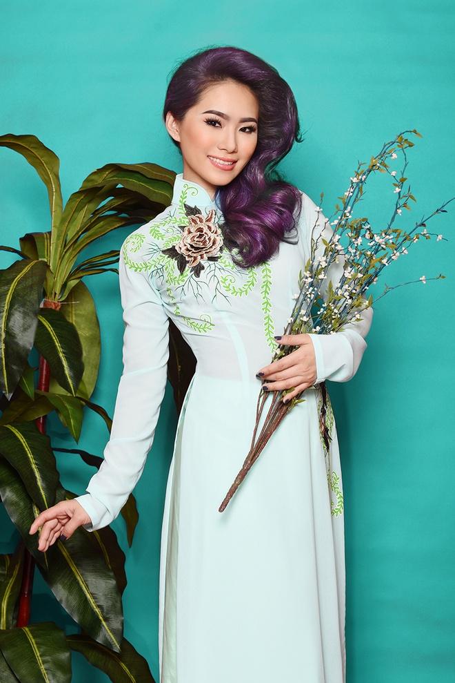 Luong Bich Huu goi y ao dai xuan cho ban gai dang nho nhan hinh anh 5