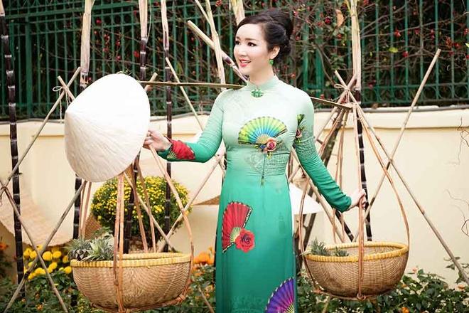 Hoa hau Giang My trang tri cho hoa tai nha rieng hinh anh 3