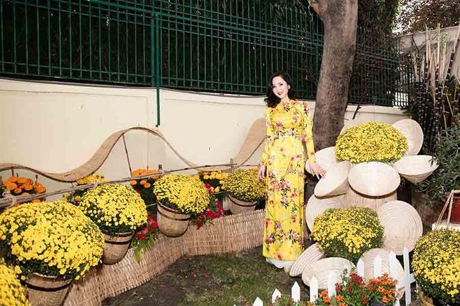 Hoa hau Giang My trang tri cho hoa tai nha rieng hinh anh 5