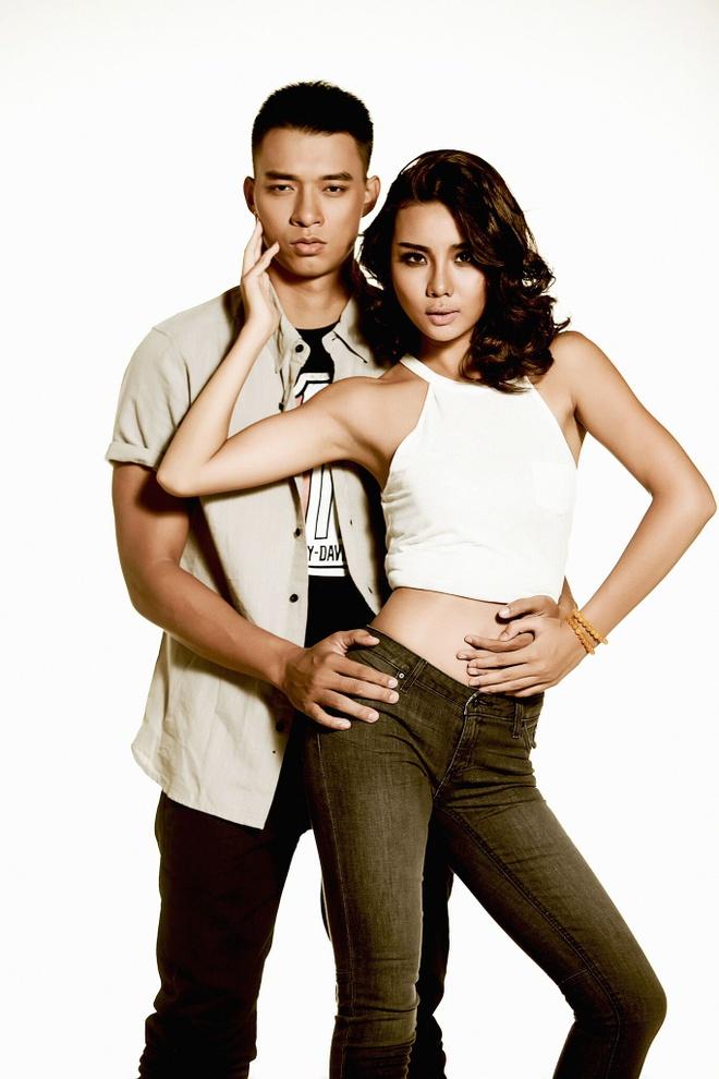 Manh Hiep - Lai Thanh Huong dep doi voi trang phuc ca tinh hinh anh 3