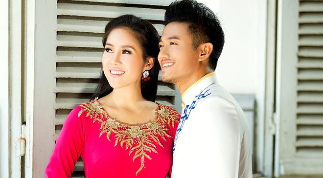 Le Phuong - Quy Binh van dep doi voi trang phuc truyen thong hinh anh