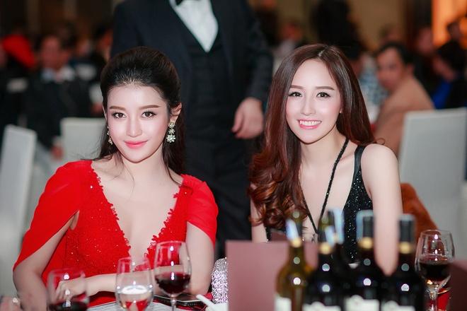 Mai Phuong Thuy - Huyen My quyen ru o tiec dau nam hinh anh 3
