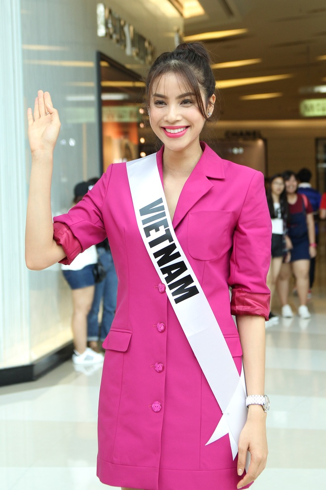 Pham Huong gap go nguoi ham mo Thai Lan hinh anh 1