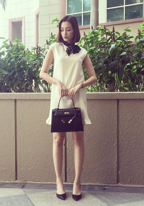 Street style cua sao Viet cuoi thang 2 hinh anh 15