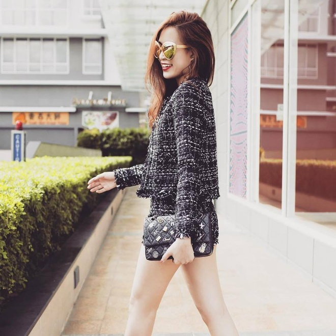 Street style cua sao Viet cuoi thang 2 hinh anh 3
