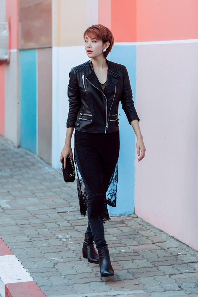 Street style cua sao Viet cuoi thang 2 hinh anh 5