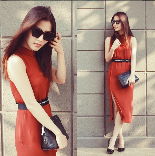 Street style cua sao Viet cuoi thang 2 hinh anh 4