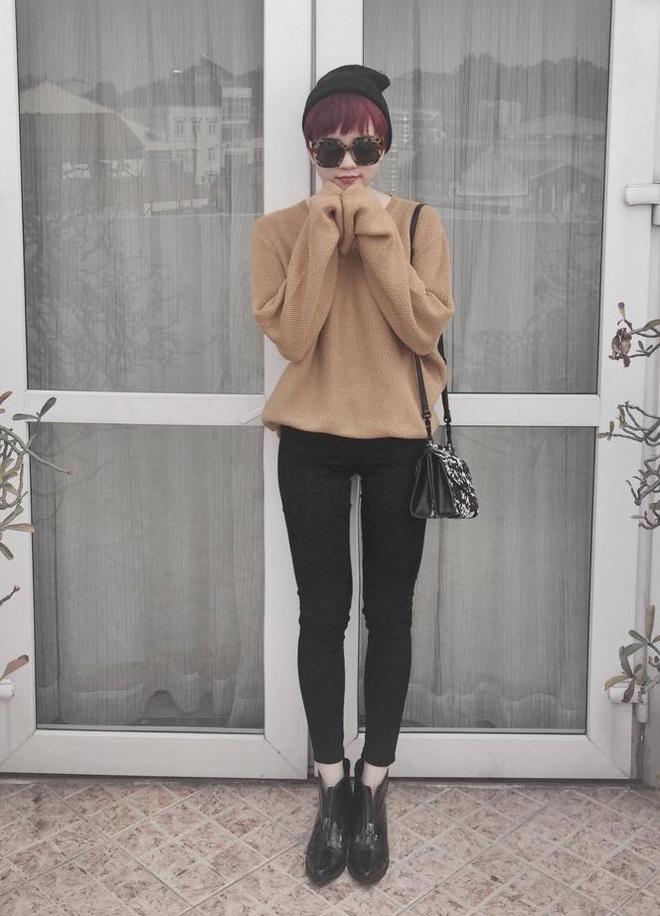 Thieu Bao Tram mix trang phuc ca tinh cung toc tem hinh anh 2