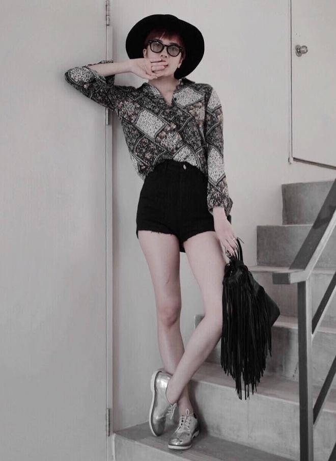 Thieu Bao Tram mix trang phuc ca tinh cung toc tem hinh anh 7