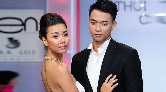 Lai Thanh Huong thua nhan chia tay Manh Hiep vi ngoai tinh hinh anh