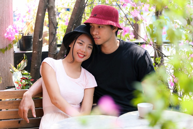 Lai Thanh Huong chia tay Manh Hiep anh 1